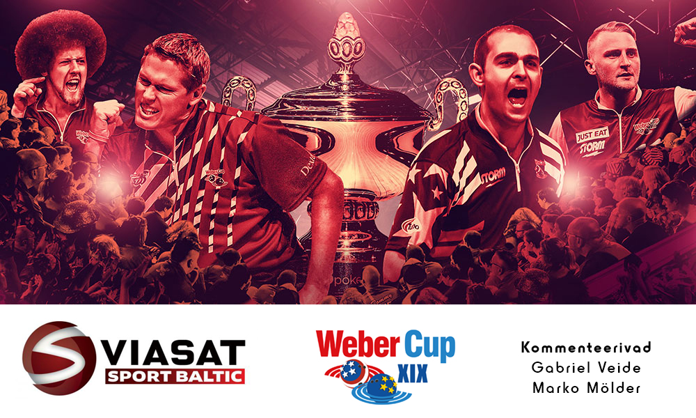 Weber Cup ülekanded Eesti telekanalil